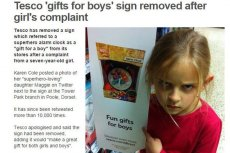 Dzieci nie trzeba wartościować pod względem płci.