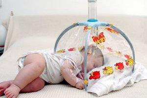 Nawet niemowlakowi możemy robić inhalacje.