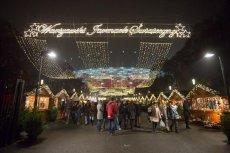 Jarmarki świąteczne działają już w wielu punktach polskich miast. Tutaj - Jarmark przy Stadionie Narodowym.