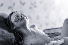 Dziecko cierpiące na raka