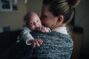 Jagoda ma teraz dwa miesiące. Już w 14 tyg. ciąży lekarze zdiagnozowali, że cierpi na przepuklinę mózgową.