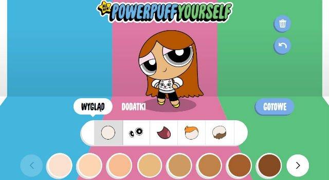 W aplikacji od Cartoon Network dziecko może stworzyć swój własny awatar.
