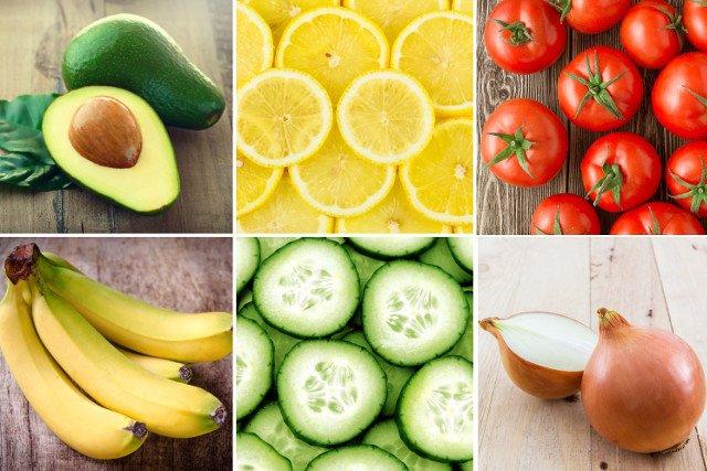 Awokado, cytryny, pomidory, banany, ogórki, cebula - te owoce i warzywa aby były dłużej świeże przechowujemy poza lodówką.