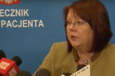 Krystyna Kozłowska pełniła funkcję Rzecznika Praw Pacjenta