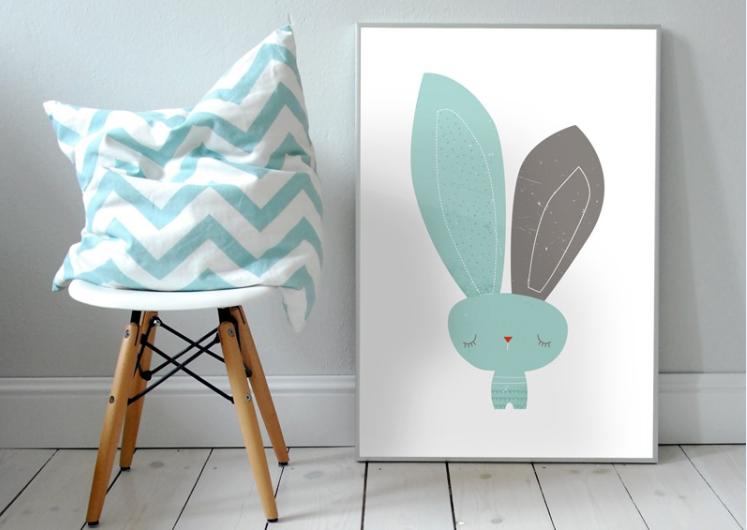 Możesz kupić gotowe wzory albo stworzyć plakat z dzieckiem
