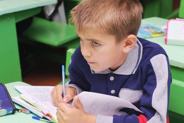Dzieci uczą się dla osiągania konkretnych stopni, a nie to powinno być ich główną motywacją.