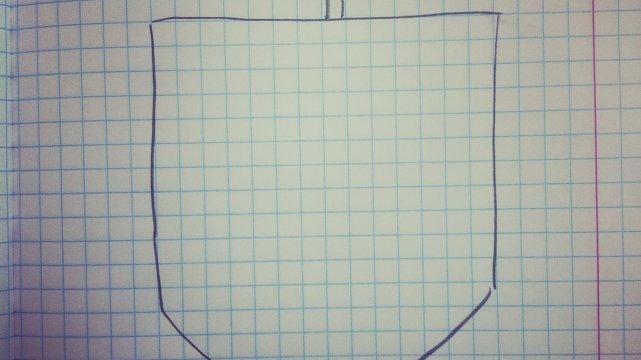 A co jest w takiej kieszonce? Wszystko co zechcecie w niej narysować!