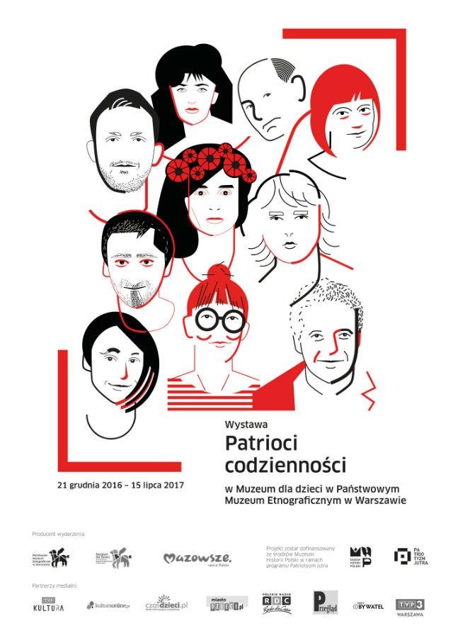 Wystawę Patrioci Codzienności będzie można obejrzeć już od 21 grudnia.
