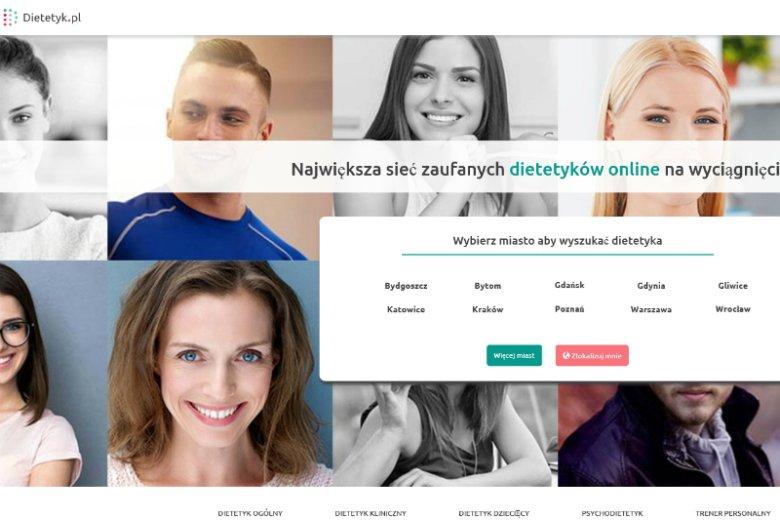 Serwis dietetyk.pl wzorowany na hitowym ZnanymLekarzu pozwala wyszukać profesjonalnego eksperta od żywienia w poradni najbliższej Twojego miejsca zamieszkania