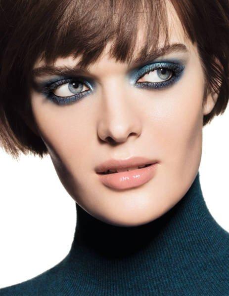 Jedna z propozycji makijażu Blue Rythm 2015 Chanel