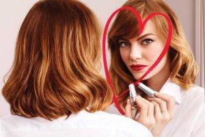 Emma Stone w kampanii szminek Ultra HD Revlon
