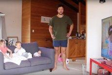 How to DAD prowadzi 28 - letni ojciec dwóch dziewczynek. Swoimi nagraniami rozbawia rodziców na całym świecie.