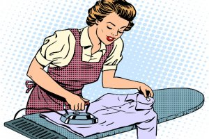 Po co dzielićsię obowiązkami domowymi, lepiej jeśli kobieta zrezygnuje z pracy.