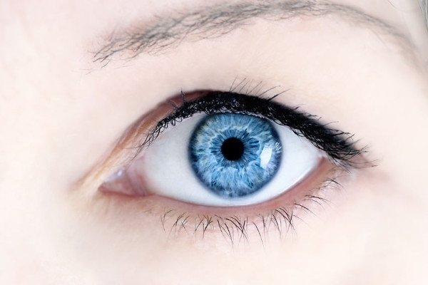 Dziwne połączenie oka