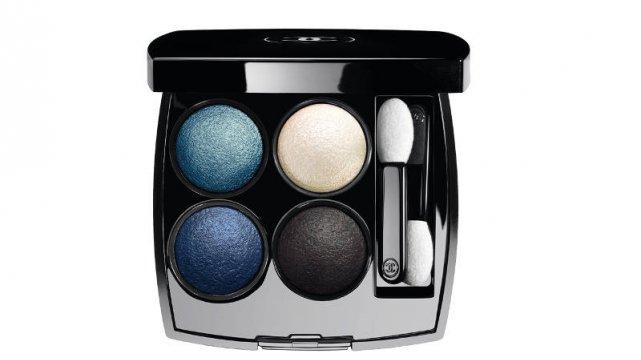 Paleta cieni z kolekcji Blue Rythm 2015 Chanel